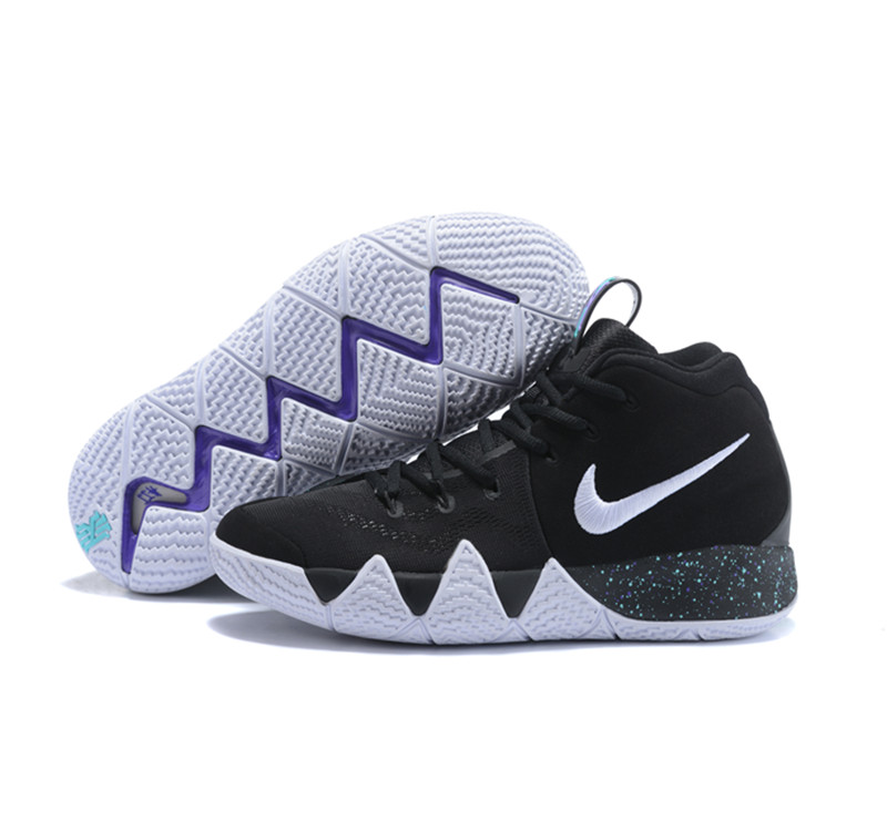 New Nike Kyire 4 Black White Purple
